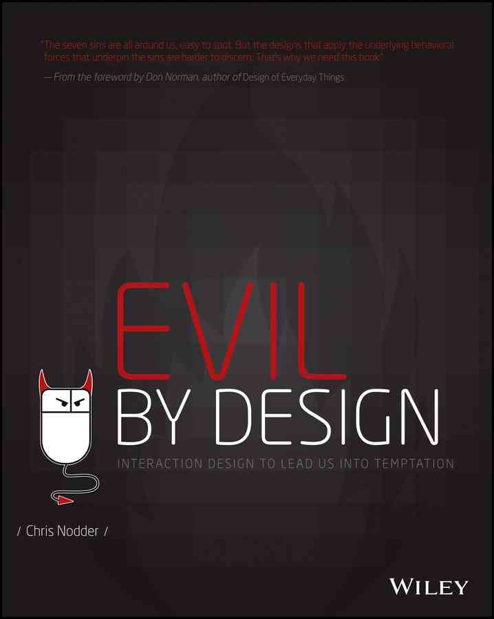 Evil by Design By Nodder, Chris